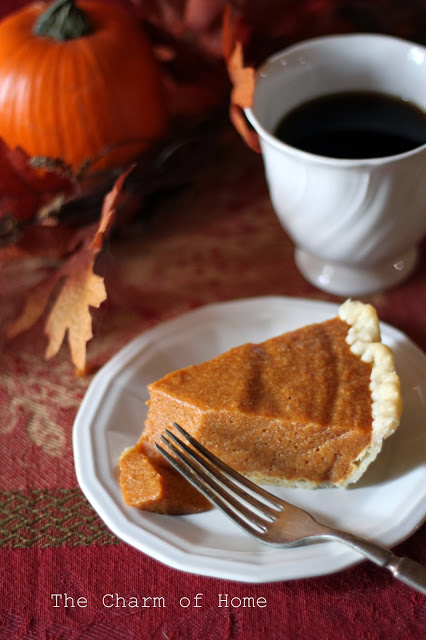 Pumpkin Chiffon Pie: The Charm of Home