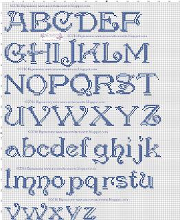 amorevitacrocette: ancora alfabeti a punto croce