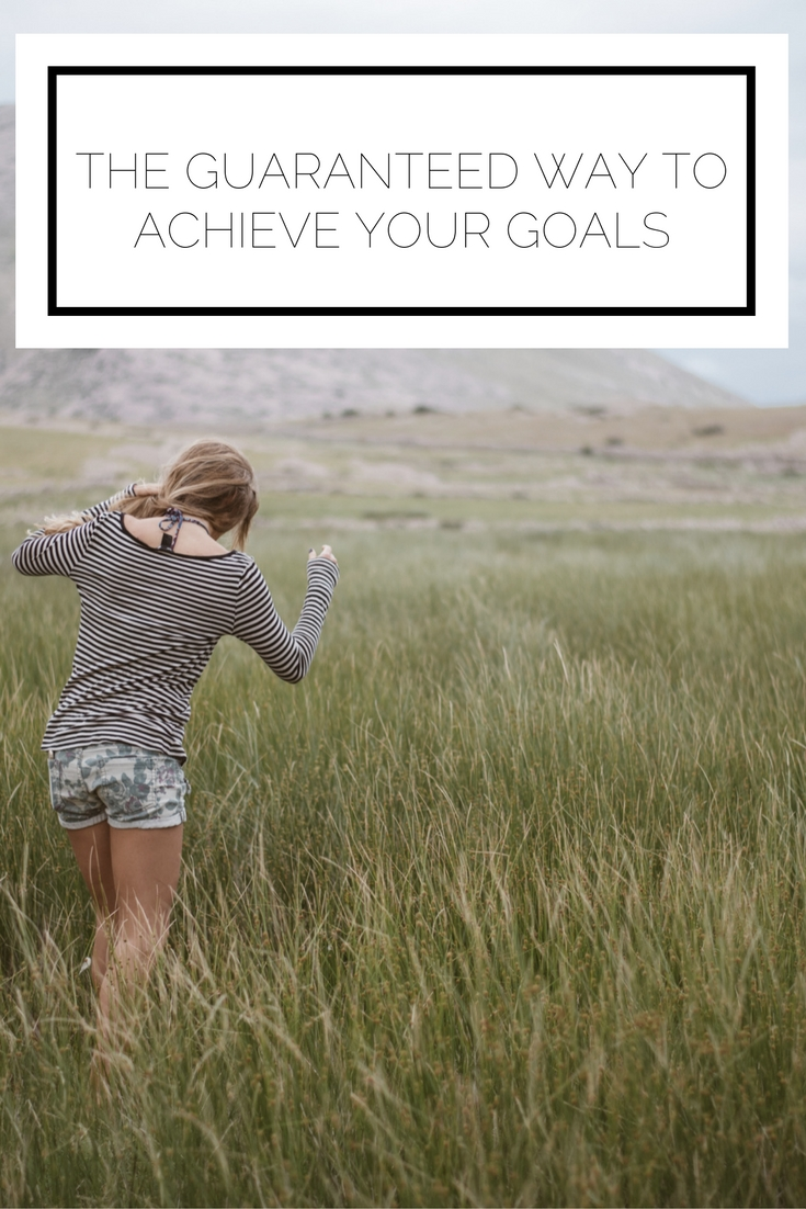 Have you ever wondered how to achieve any goal you set for yourself? Here is the key way to make those goals a reality