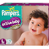 Pampers Active baby diapers - Product review