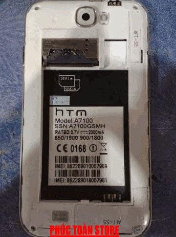 Rom stock HTM A7100 sc6820-8810 alt
