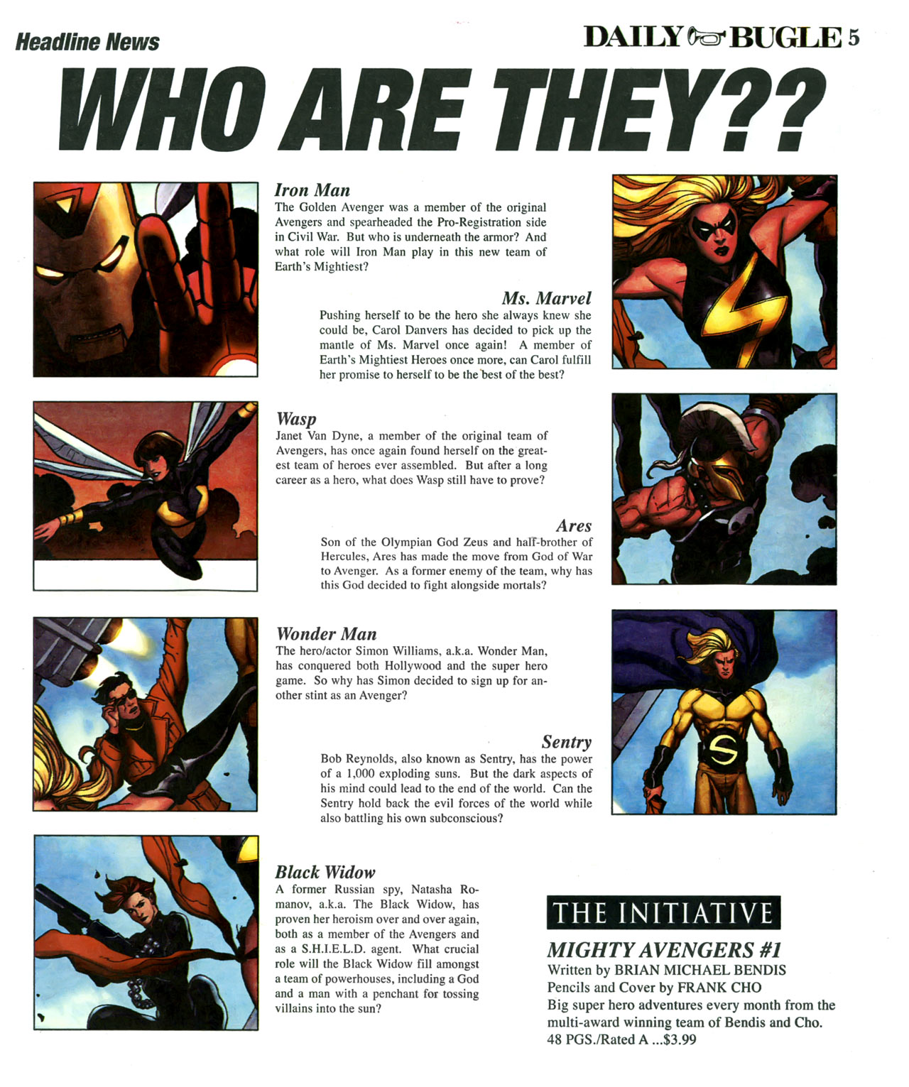 Read online Daily Bugle (2006) comic -  Issue #6 - 6