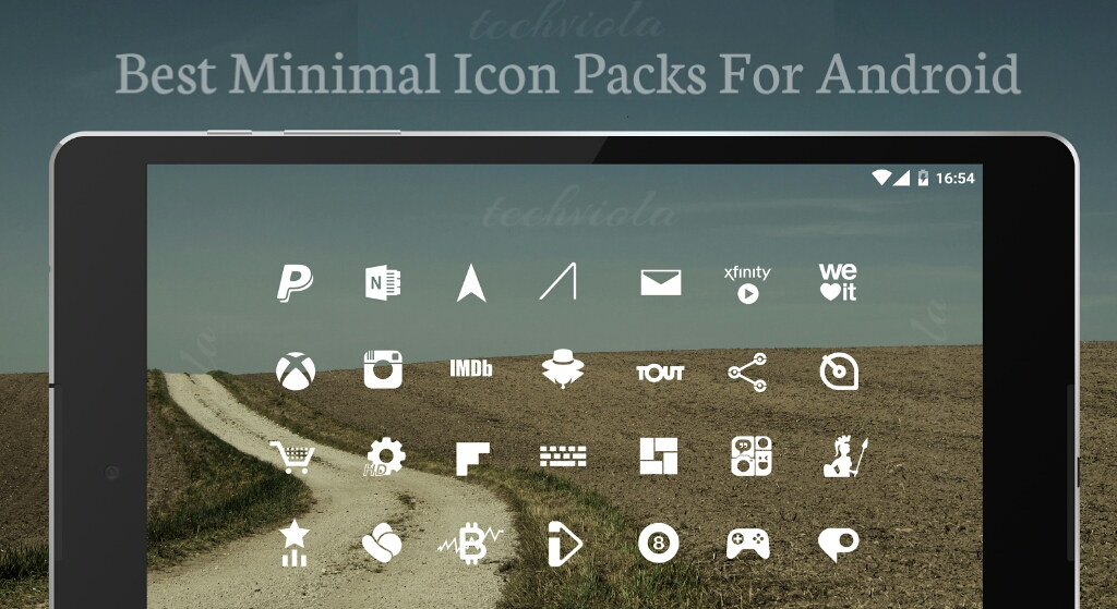 6 Best Minimalist Icon Packs For Android - TechViola