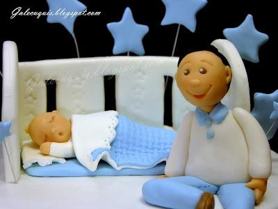 Figura bebé bautizo