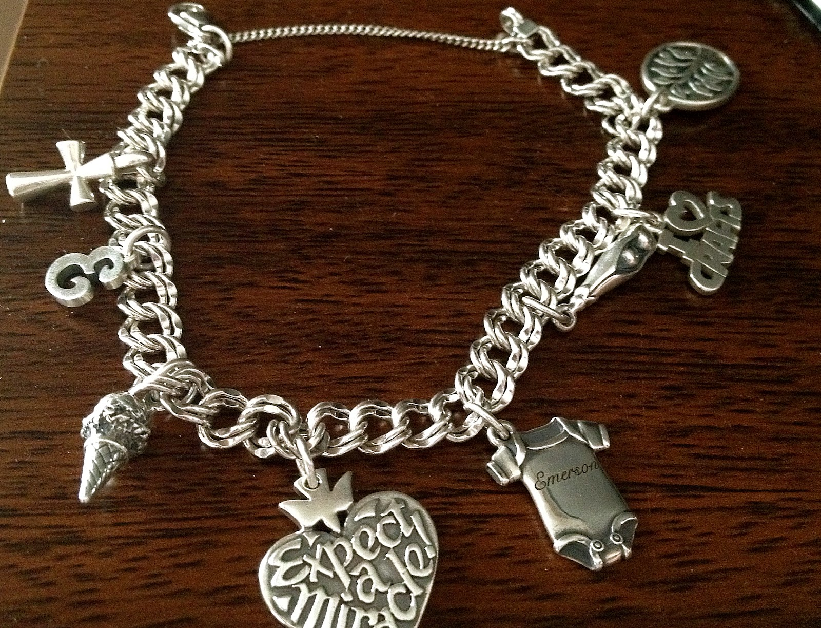 James Avery Charm Bracelet Top Actor