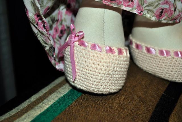 обувь для куклы, обувь крючком, туфли для куклы