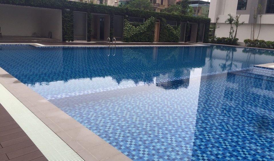 Bể bơi được phân chia theo lứa tuổi