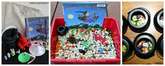 All About Authors: Julia Donaldson- Crafts and activities to support Room On The Broom