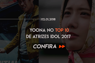 YOONA NO TOP 10 DE ATRIZES IDOL 2017