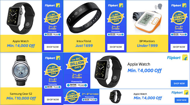 Flipkart Big Billion Days - Electronics Offers