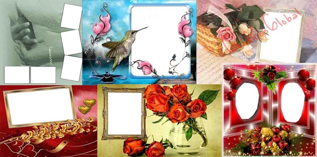 29 Marcos romanticos plantillas psd