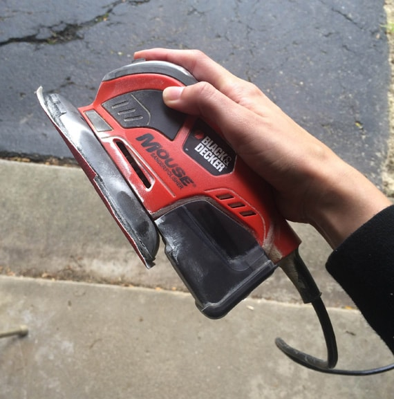 black and decker mouse sander