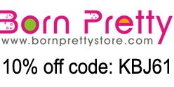 BornPrettyStore 10% off coupon code: KBJ61