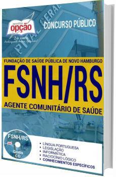 Apostila concurso FSNH 2017