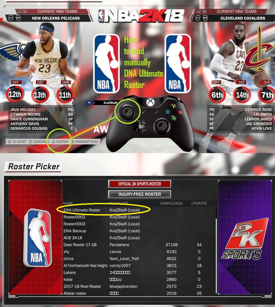 Shuajota | Your Videogame to the Next Level: NBA 2K18 PC│DNA