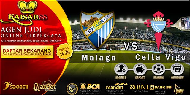 Prediksi Bola Dan Tebak Skor Malaga vs Celta Vigo 30 Oktober 2017