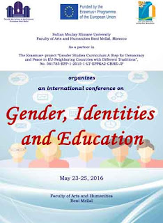 جامعة السلطان مولاي سليمان: conference on Gender, Identities and Education  May 23-25, 2016