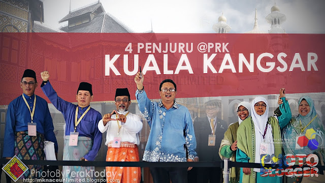 Pertembungan 4 penjuru PRK Kuala Kangsar