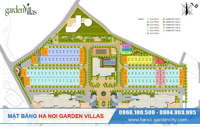 Biệt thự Garden Villas, biệt thự Garden City, biệt thự Arden Park