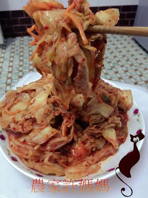 酸辣去膩醃韓國泡菜做法-農家許媽媽韓國泡菜