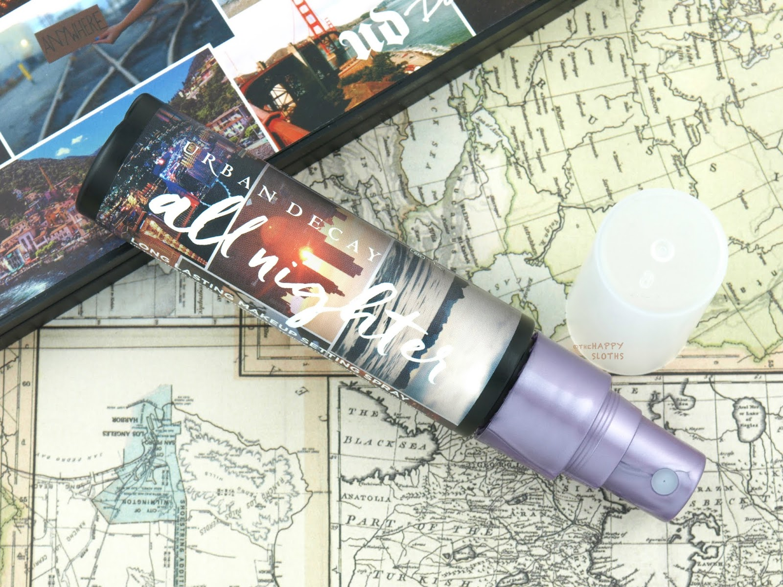 Urban Decay | Born to Run Collection All Nighter Setting Spray