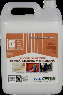 SILICONA SHINE PLUS - Limpiador y Abrillantador con Silicona