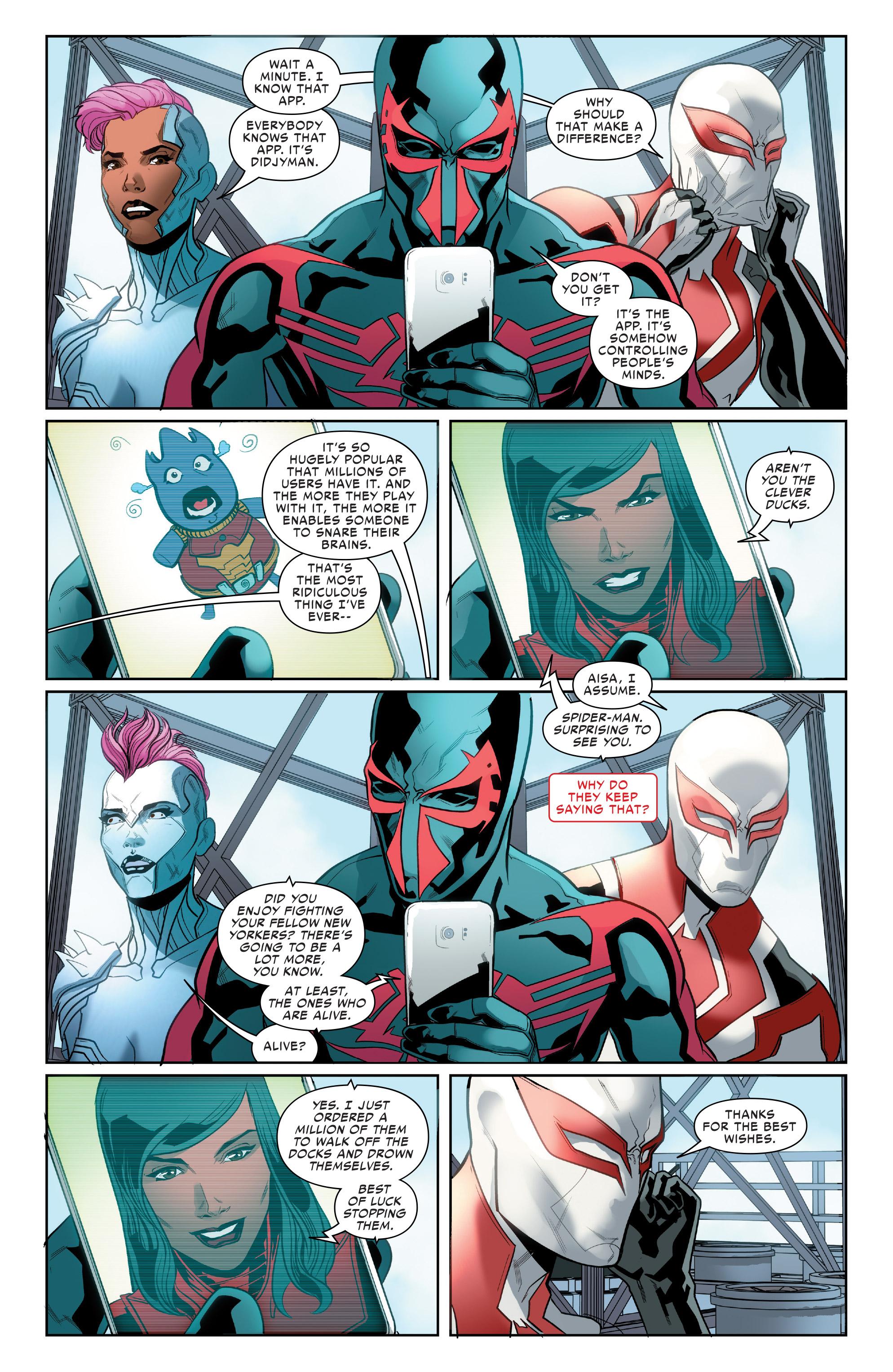 Read online Spider-Man 2099 (2015) comic -  Issue #24 - 8