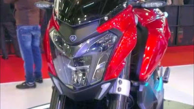 New 2016 Bajaj Pulsar CS 400 front headlight image