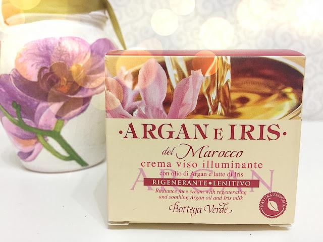 crema argan si lapte de iris