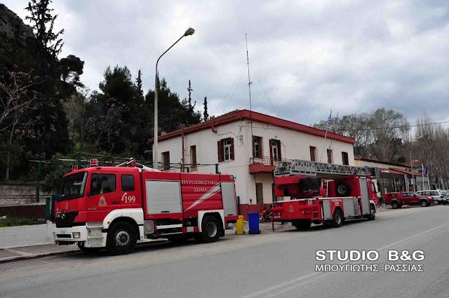 Ανδριανός στη Βουλή για την πορεία των έργων συντήρησης και επισκευής της πυροσβεστικής υπηρεσίας Ναυπλίου