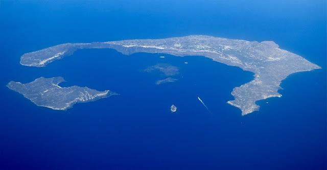 Geografia de Santorini