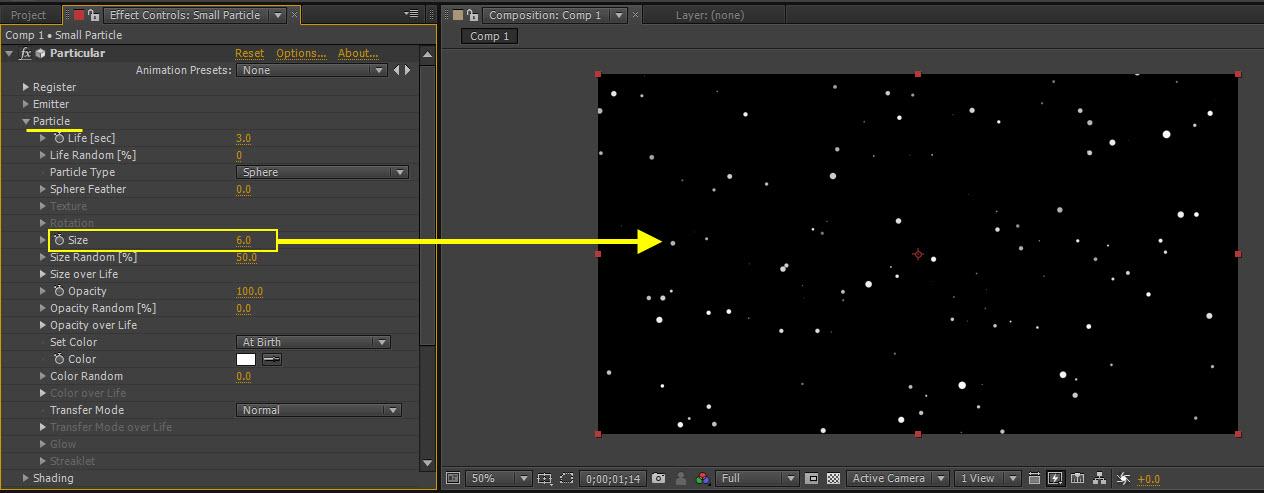Particle Dot 11