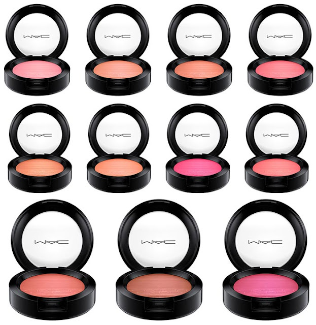 MAC Extra Dimension Skinfinish and Blush Summer 2017