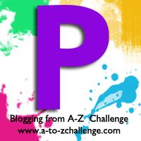 P is for Purple #AtoZChallenge