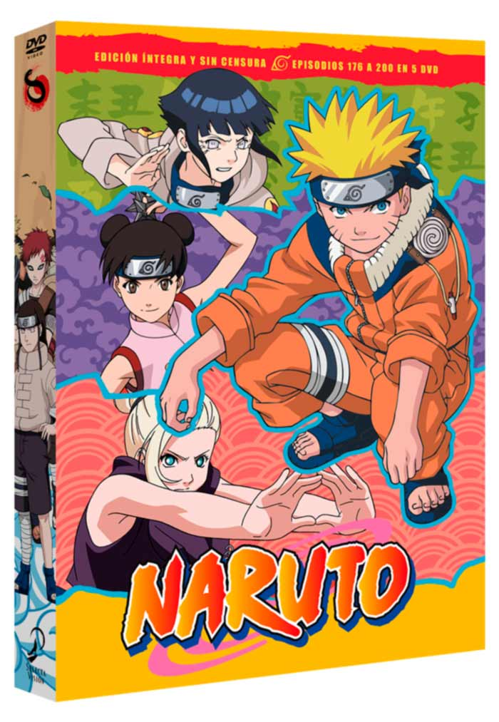 Naruto Box 8 DVD
