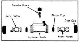 repair-manuals: Audi Fox 1973-77 Brake Repair Guide