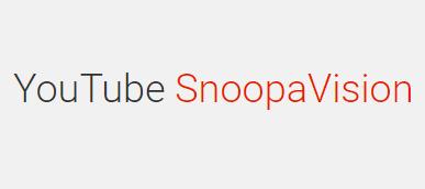 YouTube SnoopaVision