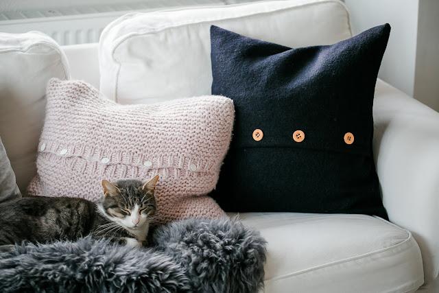 Kissenliebe, Pillow handmade, Pomponetti