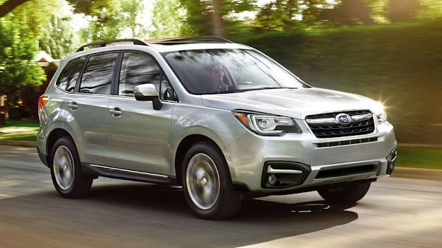 2017 All new Subaru Forester In Cost front view design