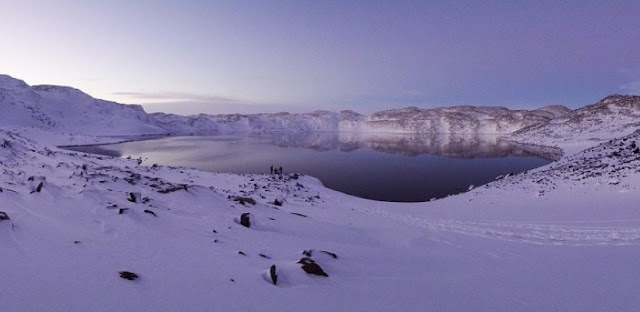 Deep Lake in Antarctica. Credit: Stu S