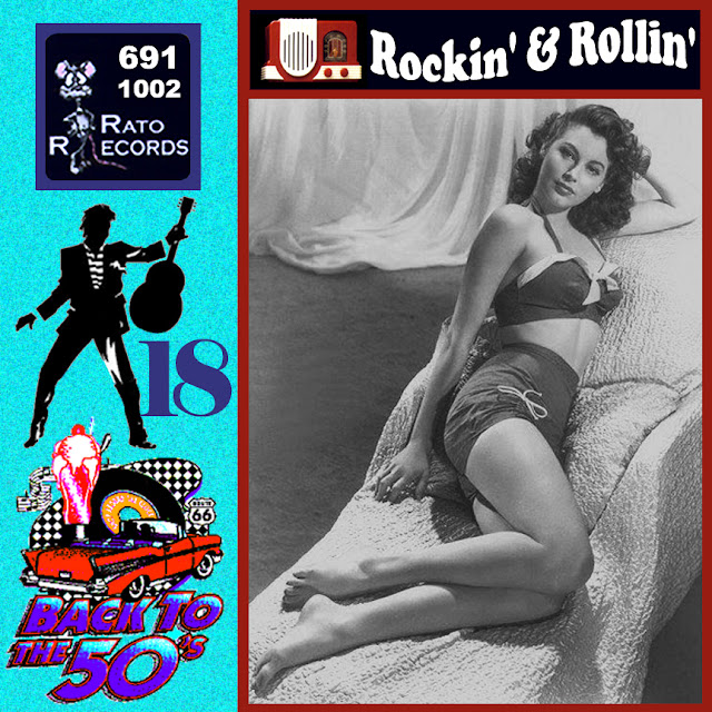 Cd collection Back To The 50's - Rockin' & Rollin' 18 Front