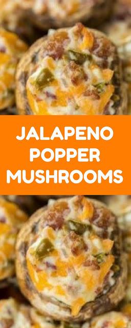 JALAPENO POPPER MUSHROOMS