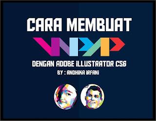 wpap dengan adobe illustrator