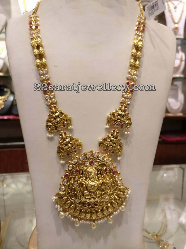 Lakshmi Long Chain by Shyam Zaveri