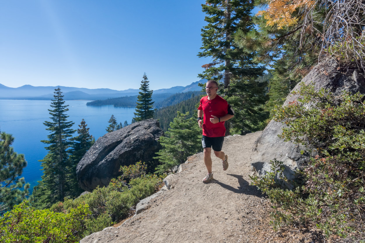Weekend Wanderluster Emerald Bay Trail Run Rubicon Trail El