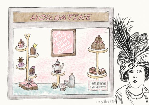 Nougatine, Illustration
