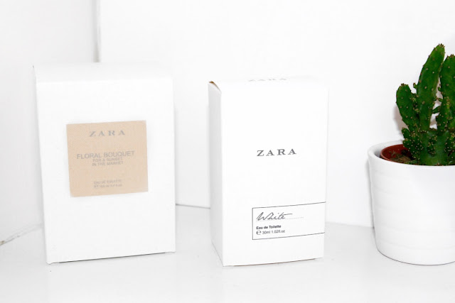Katherine Penney Chic Blogger Beauty Zara Scent Perfume Review Minimal White Pretty Love