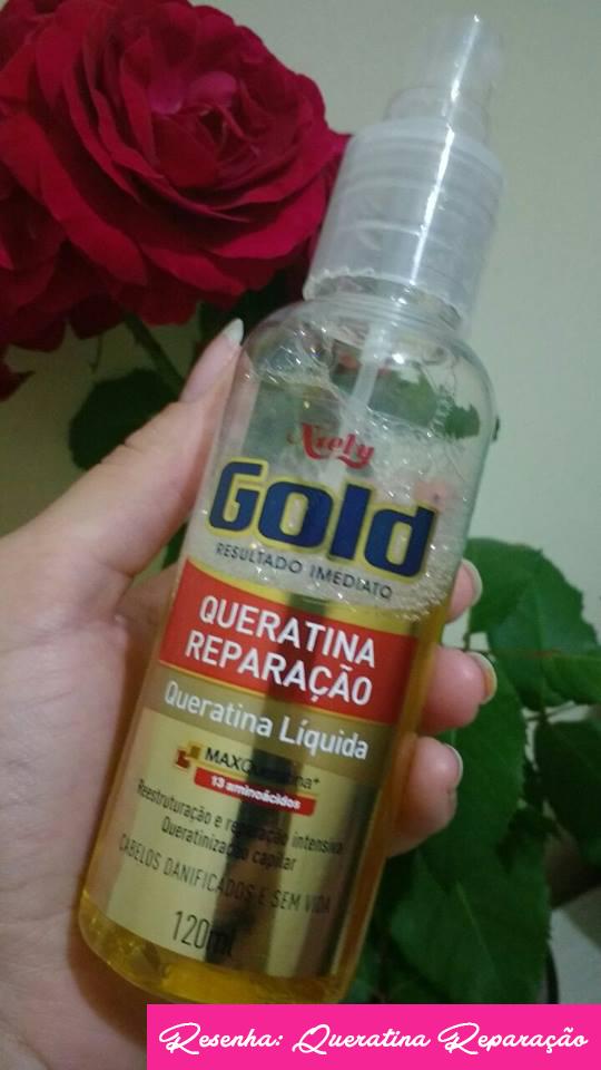Queratina Reparação Niely Gold