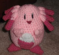 PATRON CHANSEY (POKEMON) AMIGURUMI 1822