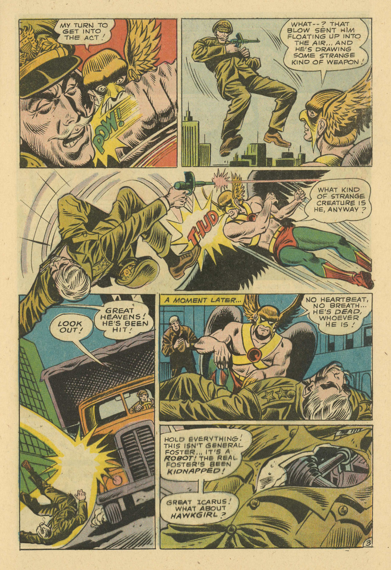 Hawkman (1964) issue 24 - Page 5